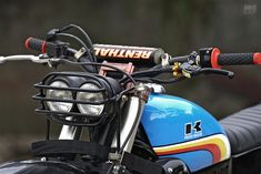 Knuckle WhackJob gives the KLX250 a Vintage Enduro Vibe