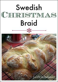 Swedish Christmas Braid - A Life in Balance