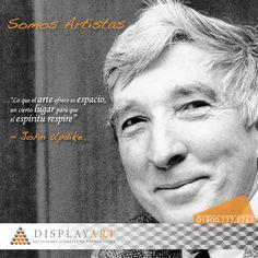 #DisplayArt crea espacios que favorecen el intercambio de ideas. #SomosArtistas