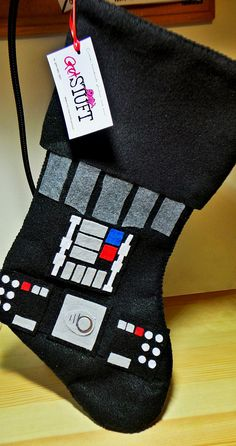 NEW Felt Star Wars Holiday Stockings Chewie and Boba by GetSTUFT