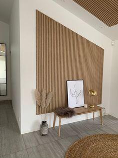 Home Room Design, Home Interior Design, Living Room Designs, House Design, Room Interior, Accent Walls In Living Room, Home Living Room, Living Room Decor, Spa Room Decor