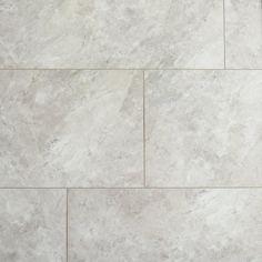 Light Grey Marble Rigid Core Luxury Vinyl Tile - Cork Back Laminate Tile Flooring, Luxury Vinyl Tile Flooring, Vinyl Plank Flooring, Luxury Vinyl Plank, Kitchen Flooring, Pvc Flooring, Best Bathroom Flooring, Waterproof Laminate Flooring, Entryway Flooring