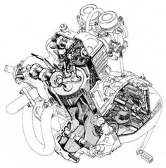 22 best bmw engines images bmw motorrad bmw motorcycles bmw engines Used X5 Diesel illustrations of some bmw motorcycle engines line drawings cutaways and renderings