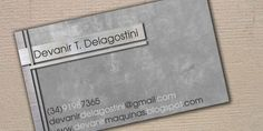 60 Metal Business Cards Designs