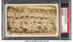 Baseball Cards:Singles (Pre-1930), 1915 Boston Red Sox with Rookie Babe Ruth Real Photo Postcard PSAVG 3....