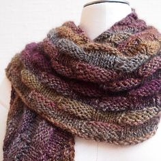 Big Waffle...yet another beautiful scarf/wrap from Susan Ashcroft...this just so cozy!