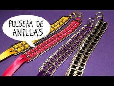 GANCHOS PARA EL CABELLO EN ANILLAS DE LATAS Luz Mireya Martinez - YouTube