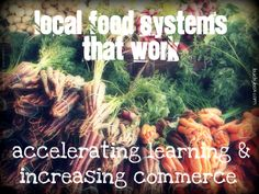"""""""Local Food Systems That Work - accelerating learning & increasing commerce"""" - a roundup of the NGFN Webinar, September Food System, Food Network Recipes, Good Food, September, Learning, Tips, Studying, Teaching, Healthy Food"""