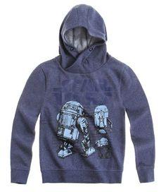 Star Wars-The Clone Wars Sweat-shirt à capuche bleu