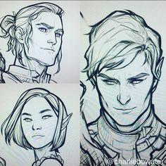 Cassian, Amren and Rhys