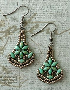 Linda's Crafty Inspirations: Earrings Number One