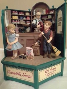 Campbell's Soup 125th Anniversary Edition Music Box