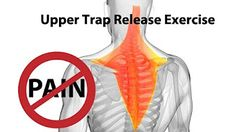 Upper Trap Release Exercise for Instant Neck Pain Relief - Dr Mandell - YouTube