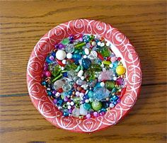 Bead Soup Destash  12 ozs. Mixed Variety Beads by NanaLetha, $6.00