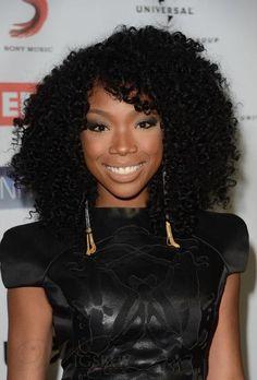 Elegant Crochet Hair Styles : Elegant Afro Hairstyle Long Curly Black Hair Lace Wig 100% Human Hair ...