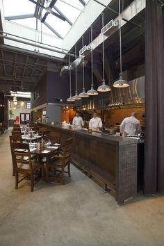 284 best open kitchens images cafe restaurant restaurant rh pinterest com