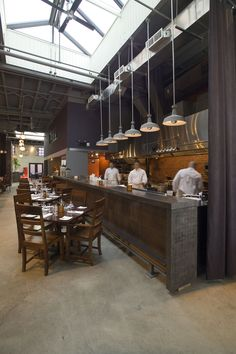 1000 Ideas About Open Kitchen Restaurant On Pinterest