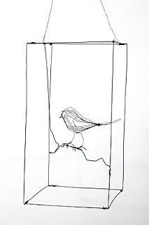 little shrubbery et au fil defer: Sculptures en Fil de fer, wire sculptures