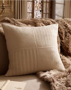 Alpine Lodge Cashmere Pillow I have these and love them! Ralph Lauren Paint, Ralph Lauren Fabric, Couch Pillows, Throw Pillows, Alpine Lodge, Cashmere Throw, Cozy Cabin, Winter Cabin, Ski Chalet