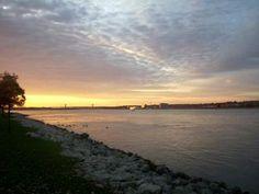 Mississippi River  Bettendorf Iowa