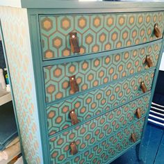 Cole And Son Wallpaper, Very Clever, Upcycled Furniture, Diy Home Decor, Dresser, Cardiff, Artemis, Pos, Australia