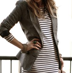 3 Tips for Wearing Stripes this Fall