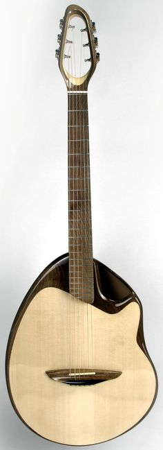 Hempstone Bowlback by Canna Guitars --- https://www.pinterest.com/lardyfatboy/