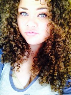 Natural Curly Hair - #big #natural #curly #hair