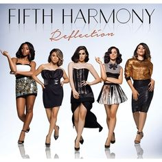 Fifth Harmony Unveils 'Reflection' Album Cover ❤ liked on Polyvore