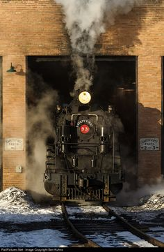 RailPictures.Net Photo: NNRY 93 Nevada Northern Railway Steam 2-8-0 at Ely, Nevada by Ben Kuhns