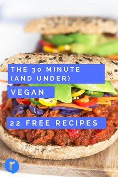 Trying to stick to a plant based diet can be quite a detailed and often challenging process on its own. Add to that many of us simply don't have the time to cook multi part recipes that can take hours and hours. The 30 minute (and under) Vegan meal plan is, as the name suggests, a Vegan meal plan full of super fast and yummy Vegan recipes.