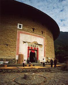 Huanjilou(環極楼), built in1693-1697, Fujian, China