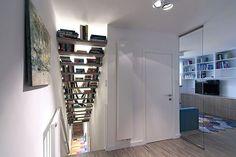 Apartamento moderno Polonia - Escaleras Librería_opt