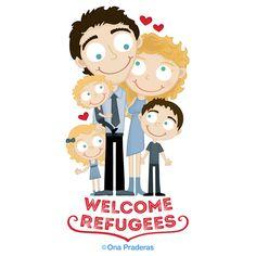 #SyrianRefugees, you are home! #WelcomeToCanada #WelcomeRefugees #JustinTrudeau http://www.onapraderas.com/welcome-refugees/