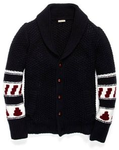 This just breathes casual refinement. Loose knit cardigan ($695) by Burberry Brit, parkandbond.com   - Esquire.com