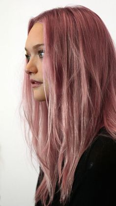 Gemma goes pink. @thecoveteur