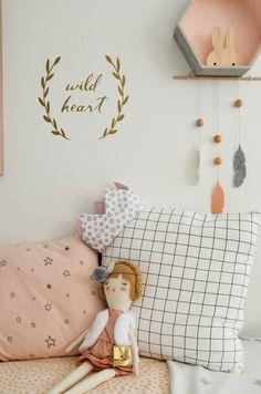 ideas dormitorio niñas nórdico