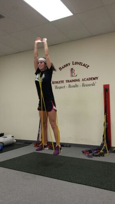 D2 College softball player working on explosiveness over her winter break. Training: NEVER stops  'Pitcher's POP Training' is for ALL softball players. Click the pic to change your game TODAY!