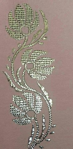 Muşabak ***** Hand Embroidery, Embroidery Designs, Blouse Designs, Diy And Crafts, Hair Accessories, Cross Stitch, Pattern, Hair Accessory