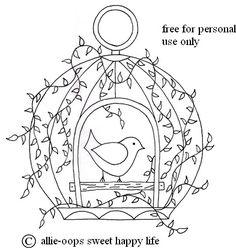 gaiola de pássaro 001 789
