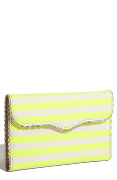 Rebecca Minkoff #Striped #Neon #Clutch #accessories
