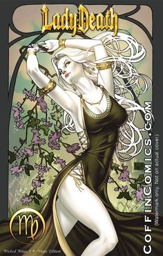 Lady Death Zodiac virgo by ToolKitten  Part of a Lady death zodiac series I am working on for Brian Pulido!