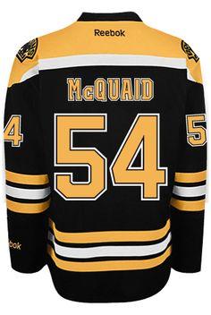 edfd0c58dff Boston Bruins Adam MCQUAID #54 Official Home Reebok NHL Hockey Jersey (SEWN  TACK CoolHockey. Ray BourqueBoston ...
