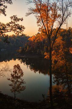 Fall Morning in Kentucky; photo by Daniel Nahabedian