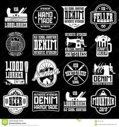 handcrafted-badges-retro-style-woodworker-seamstress-craft-beer-camping-graphic-design-t-shirt-white-print-black-60191125.jpg (1300×1390)