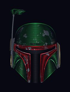 Star . Wars - Boba Fett Art Print by Nathan Owens