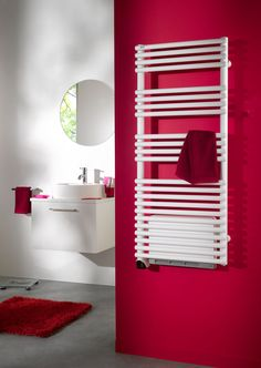 radiateur s che serviettes eau chaude en aluminium. Black Bedroom Furniture Sets. Home Design Ideas