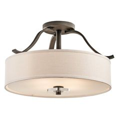 View the Kichler 42486 Leighton 4 Light Semi-Flush Indoor Ceiling Fixture at LightingDirect.com.