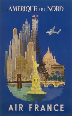 Affiche Air France