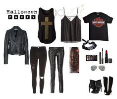 """""""Biker Chick   Halloween or Theme Party"""" on Polyvore"""